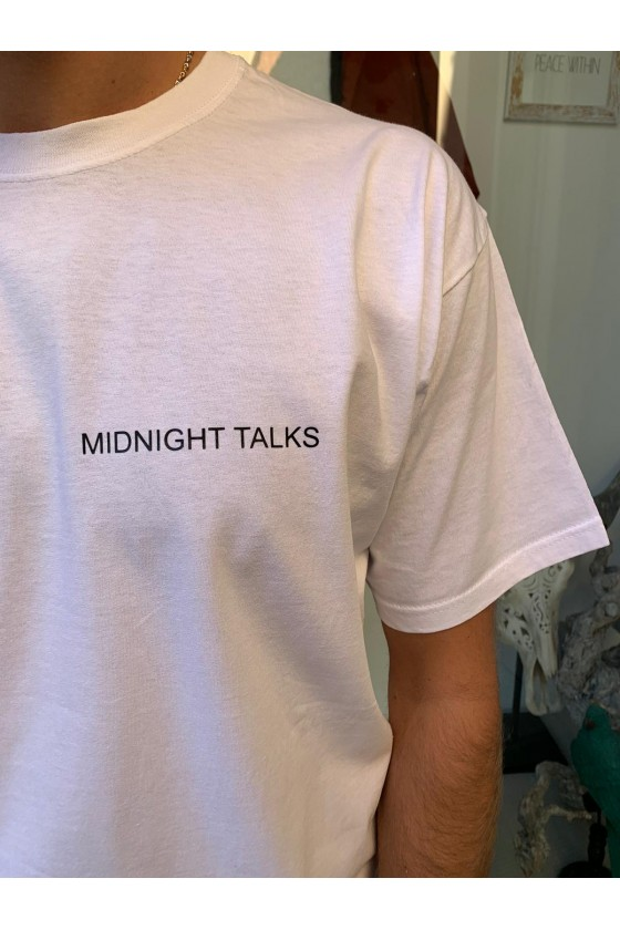 T-SHIRT GLÖED MEN - MIDNIGHT TALKS