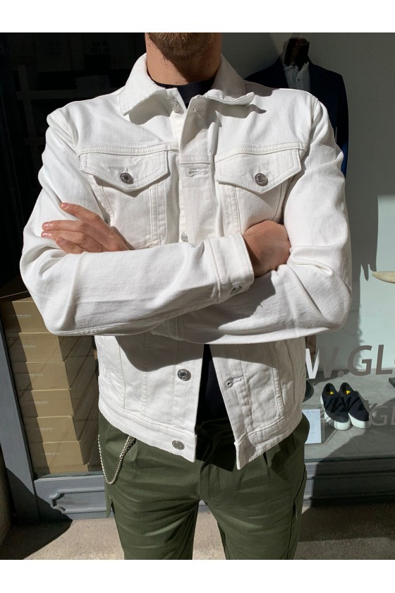 GIACCA IN JEANS - WHITE