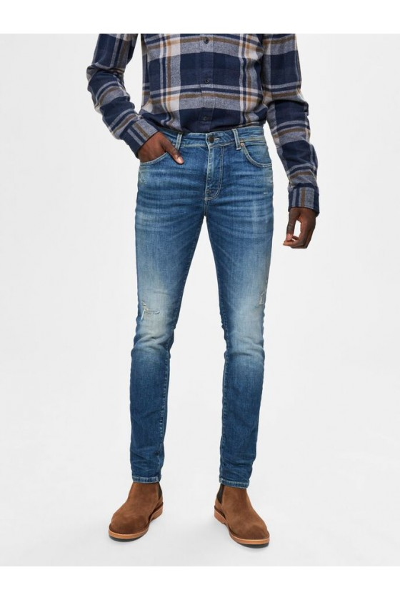 JEANS SUPER STRETCH - MID BLUE